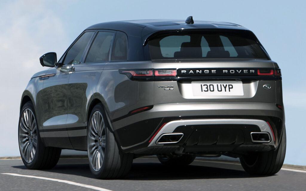 Обновленный Range Rover Velar получил новые двигатели и опции