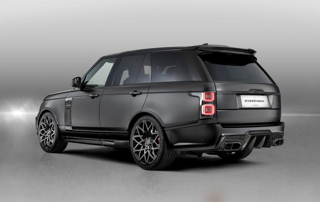 Тюнинг-ателье Overfinch представило очень черный Range Rover