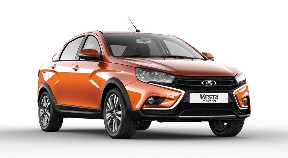 АвтоВАЗ озвучил цены на вседорожный седан Lada Vesta Cross
