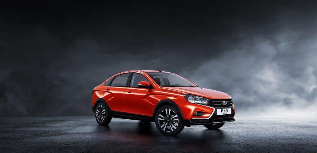 «АвтоВАЗ» начнет продажи седана Lada Vesta Cross в июле 2018 года