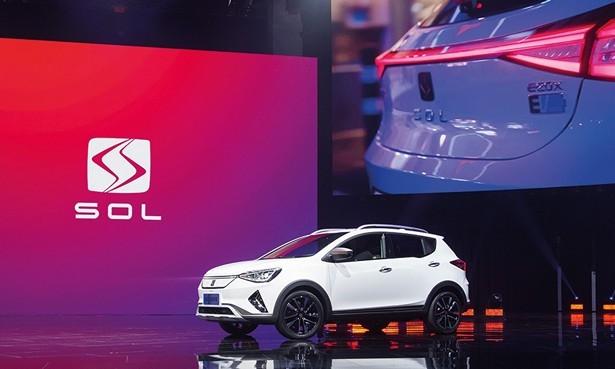 JAC и Volkswagen начали выпуск первого совместного кроссовера SOL E20X