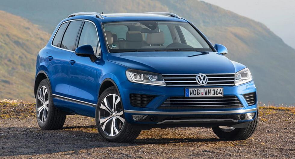 Volkswagen отзовет более 57 000 дизельных Touareg по всему миру