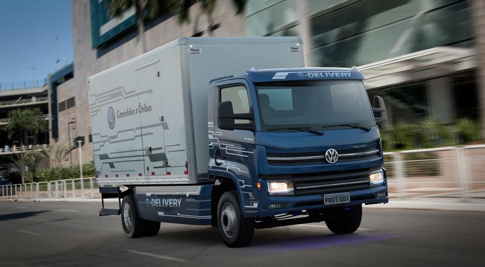 Volkswagen представил электрический грузовик Volkswagen E-Delivery