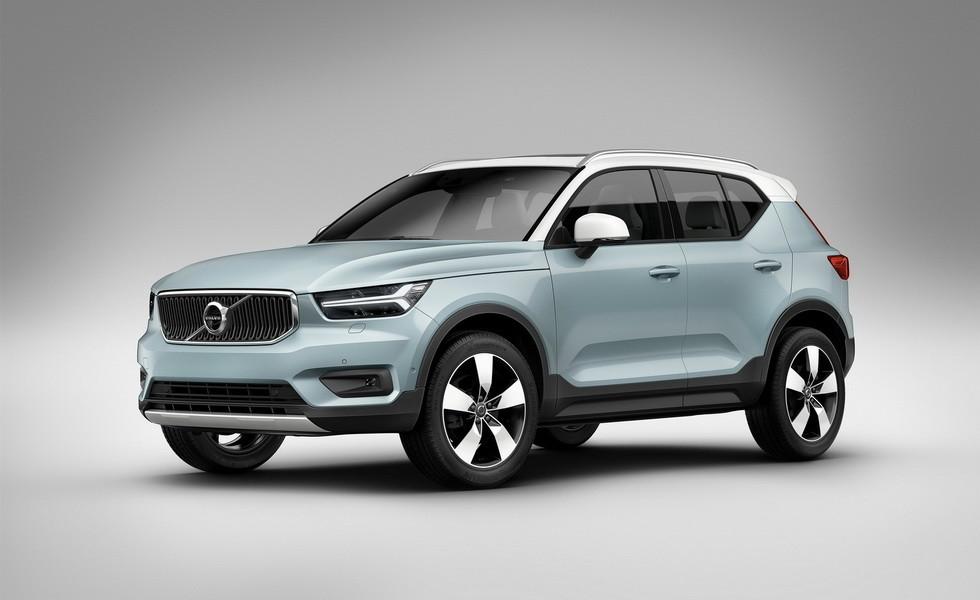 Volvo в июне начнет продажи компактного кроссовера XC40 в России