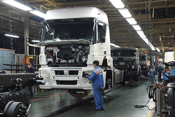 «КАМАЗ» увеличил производство автомобилей на 6,8%
