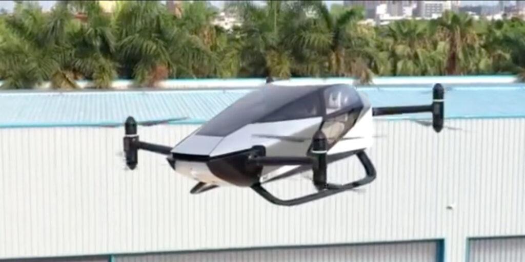 XPeng показала концепт-кар электрического летающего автомобиля X2