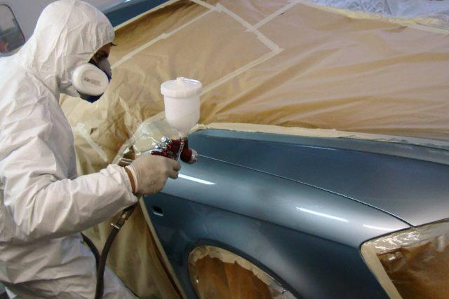 Реставрация автомобиля пескоструем