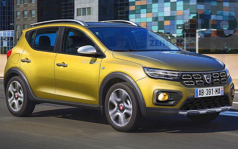 Новый Renault Sandero Stepway показали на рендере