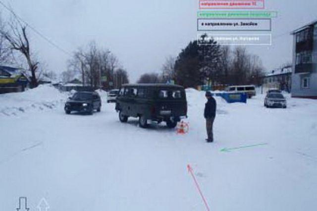 12-летнюю девочку на Камчатке сбил пенсионер на УАЗе