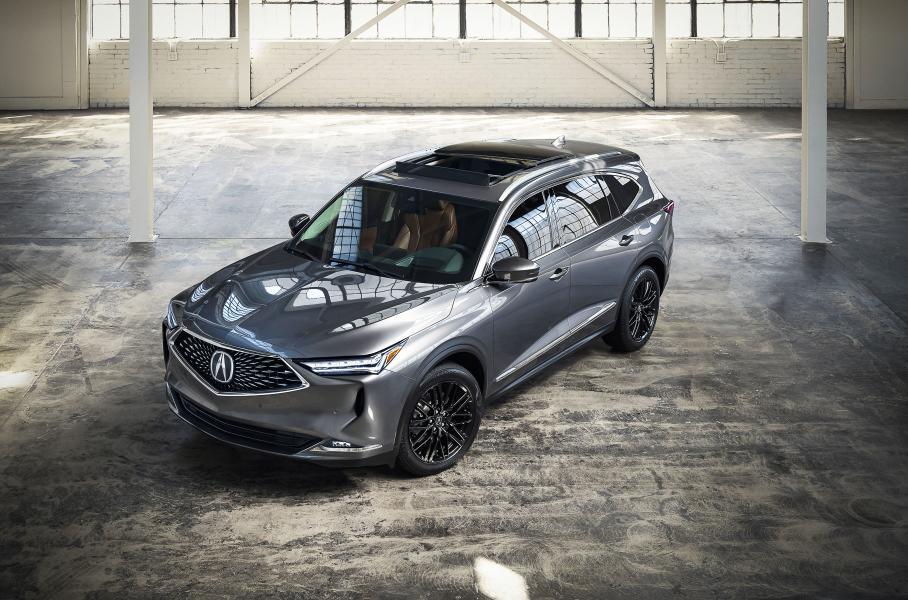Acura официально презентовала новое поколение кроссовера Acura MDX