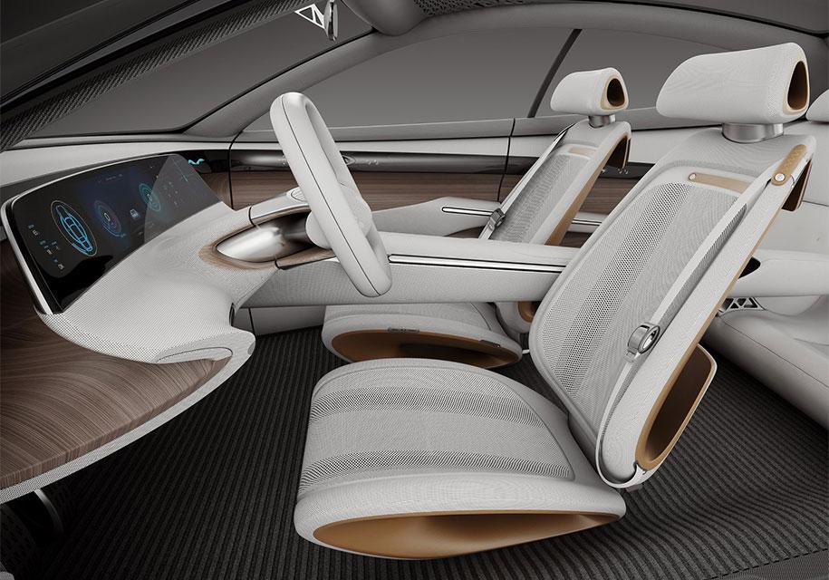 Hyundai показала дизайн будущих новинок на прототипе без фар