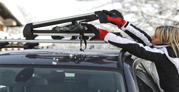 Как выбрать крепления на багажник для лыж?
