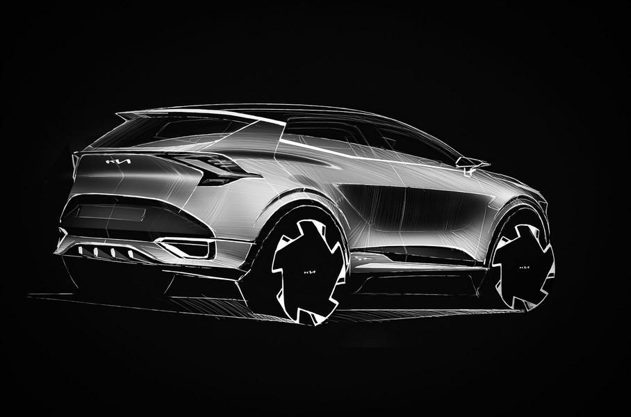 Kia анонсировала кроссовер Kia Sportage новой генерации для рынка Европы