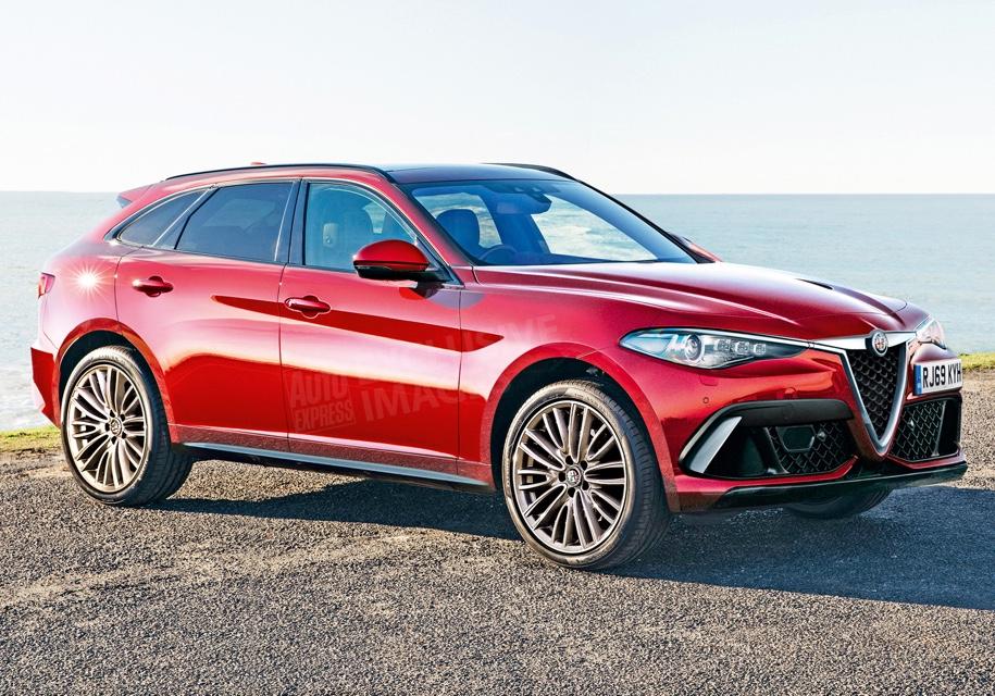 Компания Alfa Romeo готовит 400-сильного конкурента Audi Q7