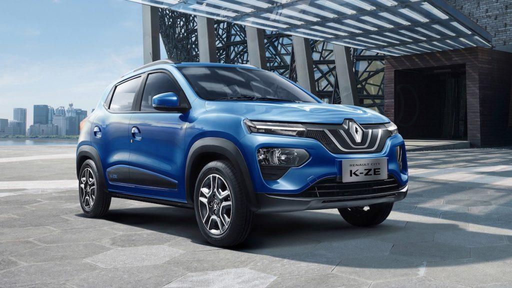 Renault привезет в Европу бюджетный электромобиль City K-ZE