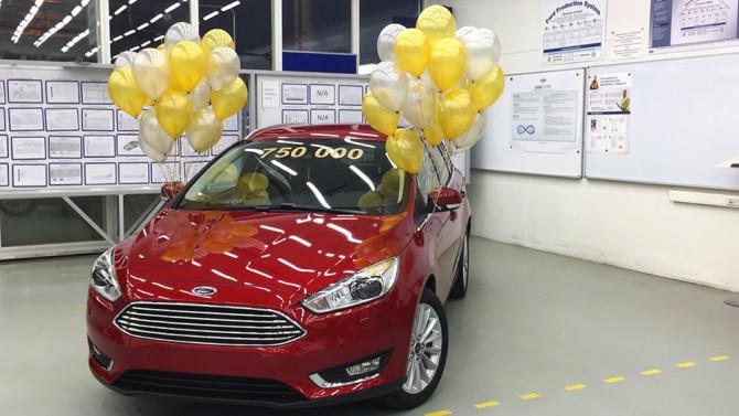 Завод Ford Sollers во Всеволожске выпустил 750 тыс. автомобилей