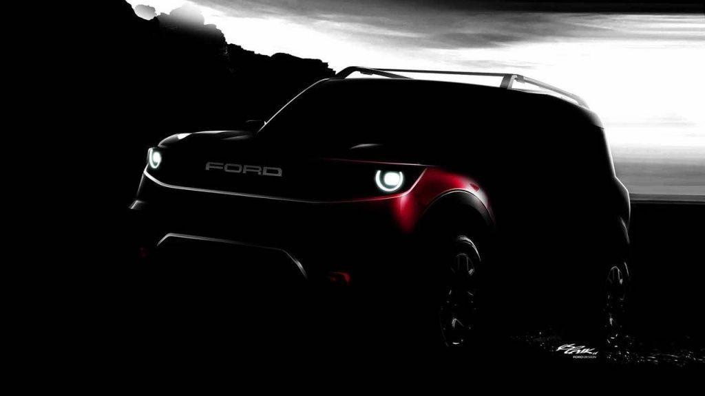 Новый кроссовер Ford Bronco представлен на рендере