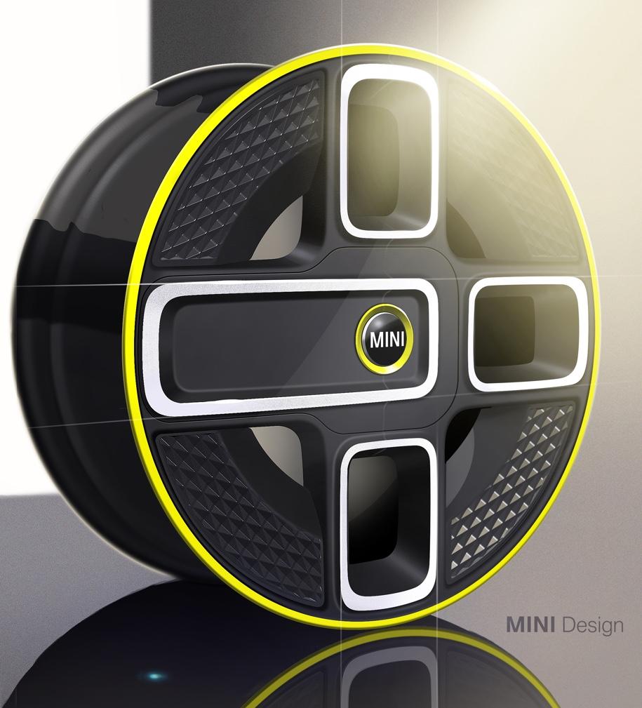 MINI показала серийный электромобиль на двух эскизах