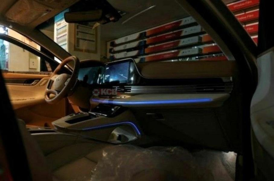 Новый бизнес-седан Hyundai Grandeur впервые показали без камуфляжа