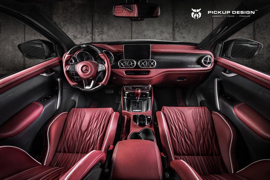 Пикап Mercedes-Benz X-Класса превратили в экстремальный внедорожник