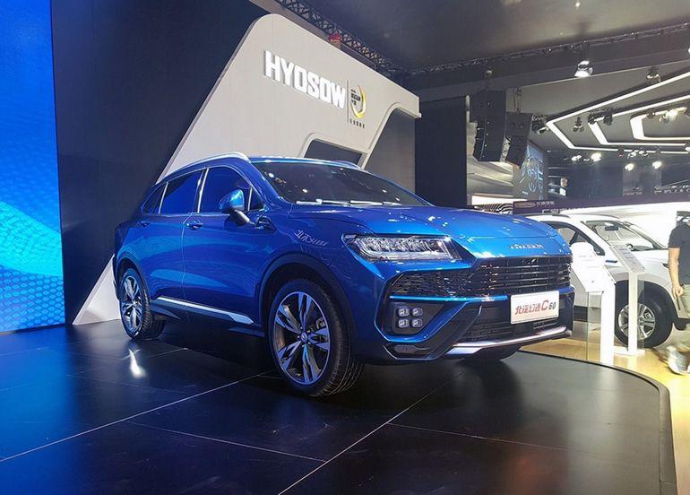 В Китае состоялась официальная презентация клона Lamborghini Urus