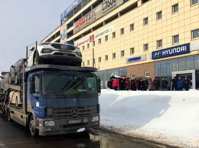 «Автотор» начал поставки легковых автомобилей Hyundai в Белоруссию