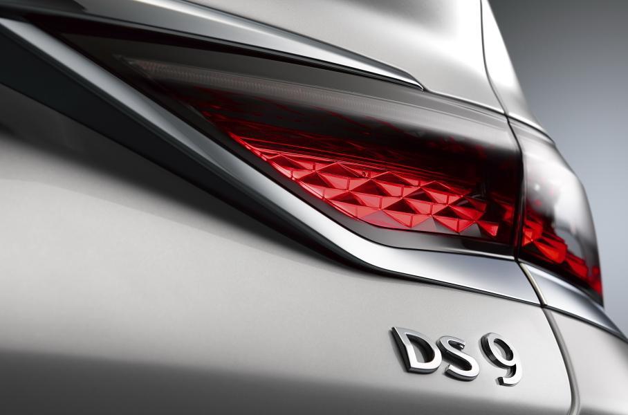 Представлен роскошный седан DS 9