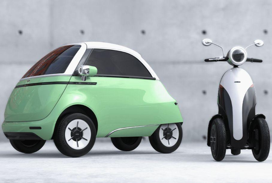 Швейцарцы сделали электромобиль в стиле BMW Isetta