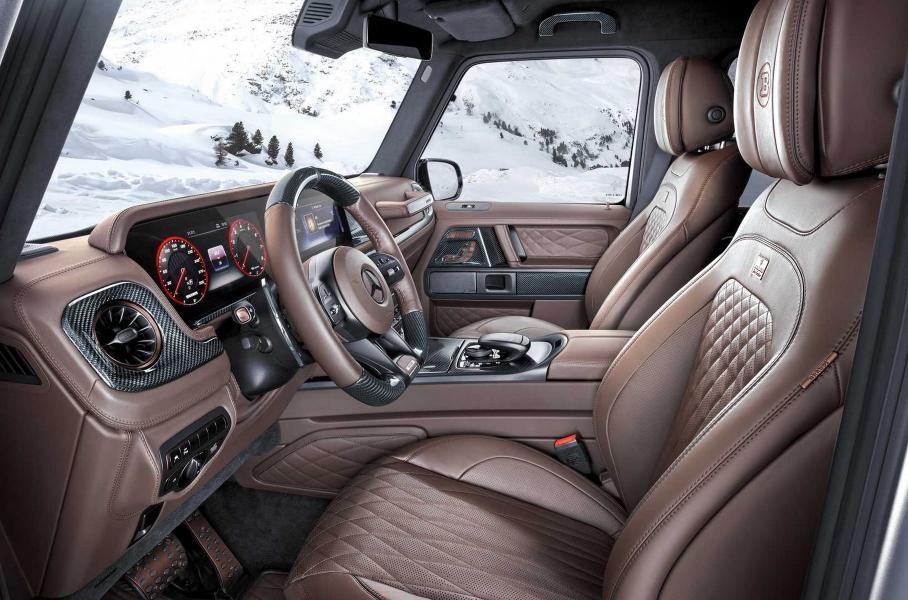 Mercedes-AMG G 63 превратили в пикап c полуметровым клиренсом