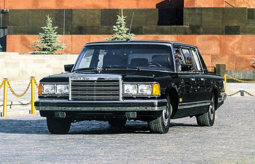 Отечественные лимузины Aurus Senat и ЗИЛ-4104 вошли в список лучших