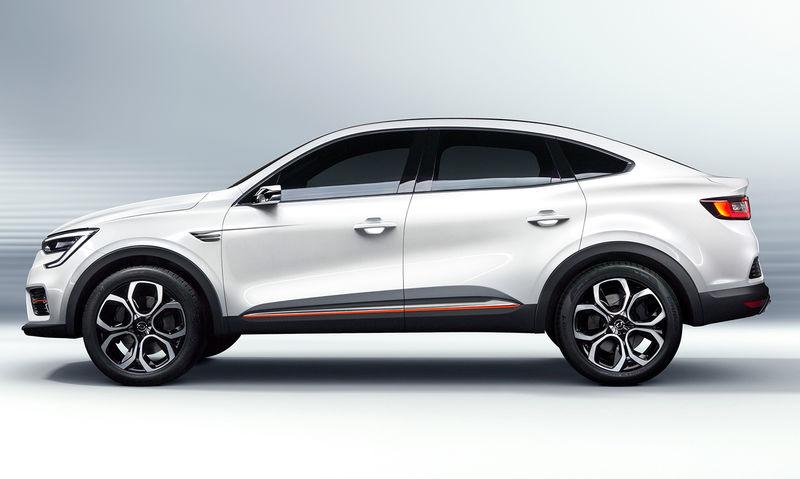 В Южной Корее представлен новый купе-кроссовер Renault Arkana