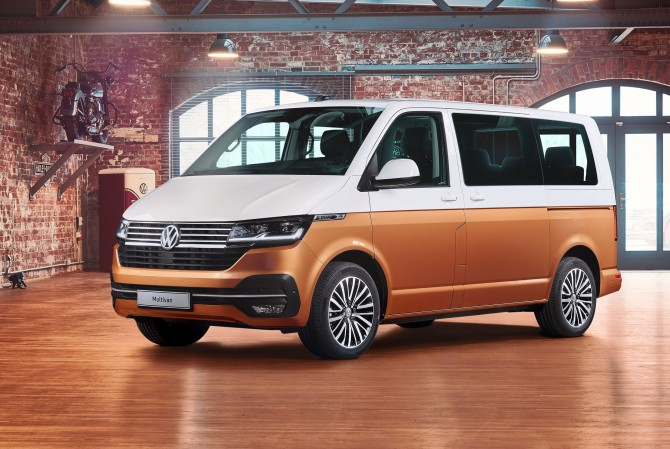 Новые Volkswagen Т6.1 появятся в России уже в марте