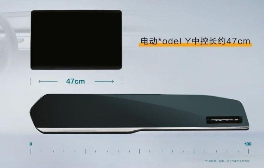 Новый кроссовер Geely KX11 получит метровый дисплей в салоне