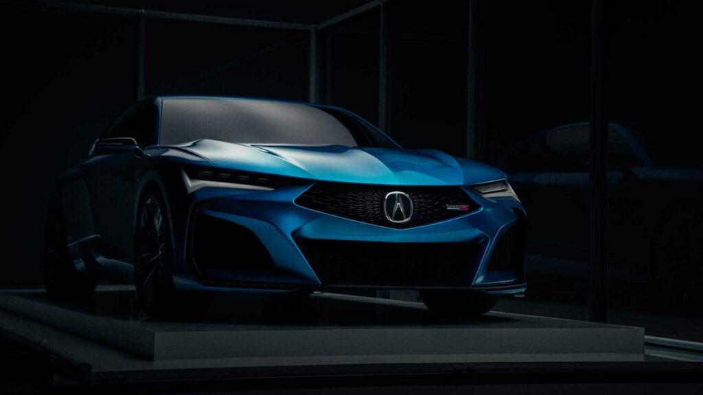 Acura показала шоу-кар Acura Type S Concept
