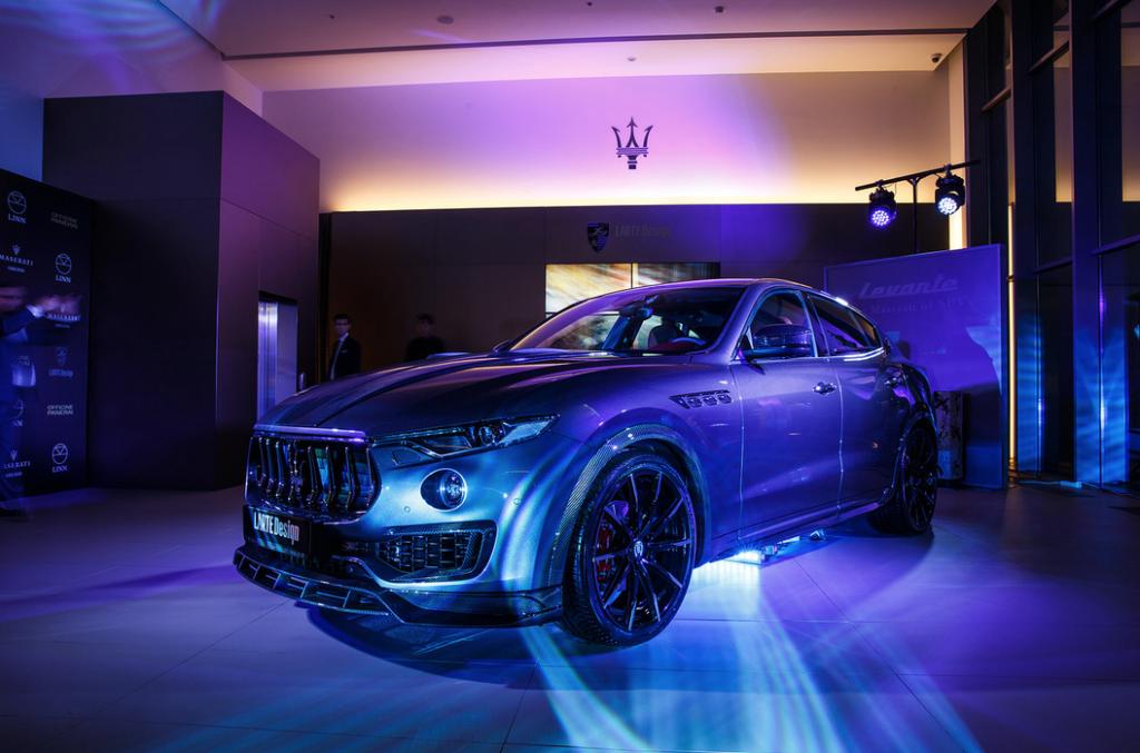 В России состоялась официальная презентация Maserati Levante by Larte Design