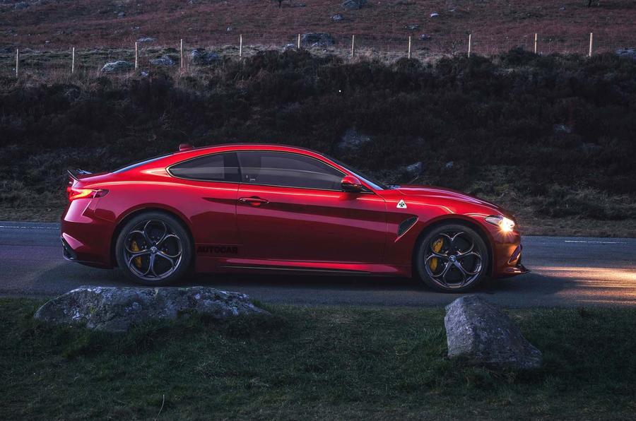 В компании Alfa Romeo готовят 650-сильное купе Giulia