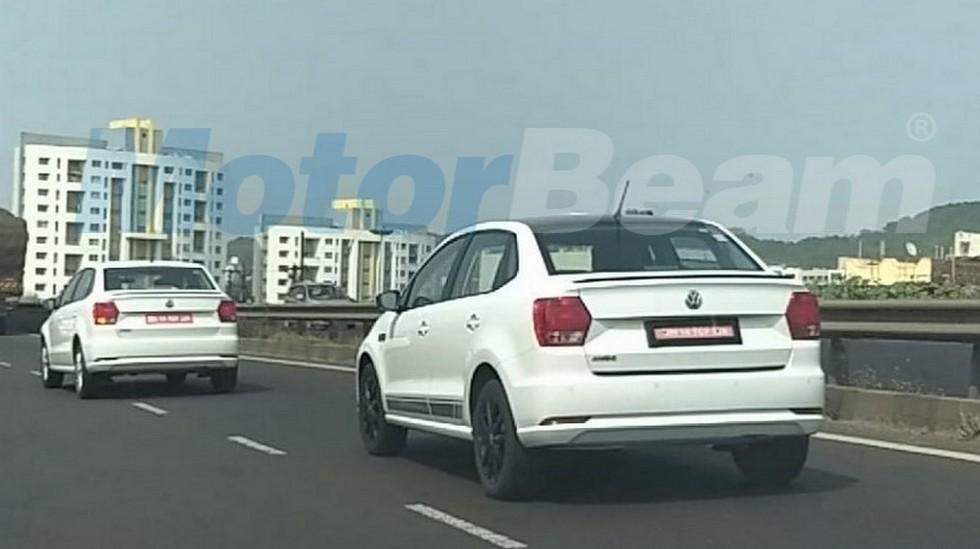 Бюджетный седан Volkswagen Ameo получил новую версию Sport