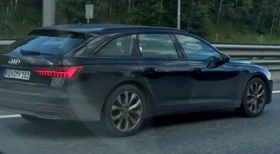 Новый кроссовер и универсал от Audi тестируют на российских дорогах