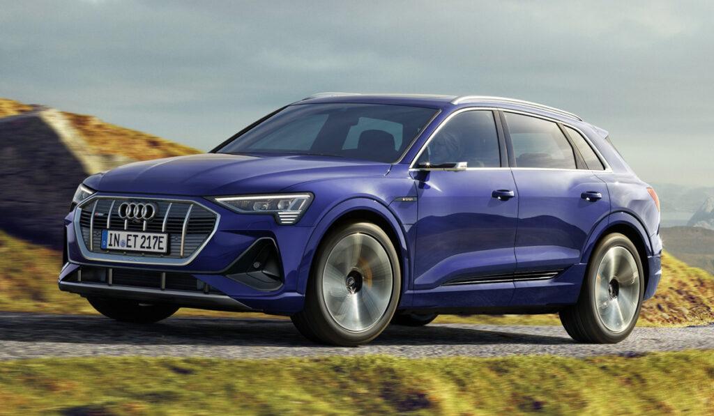 Электрический кроссовер Audi e-tron увеличил запас хода