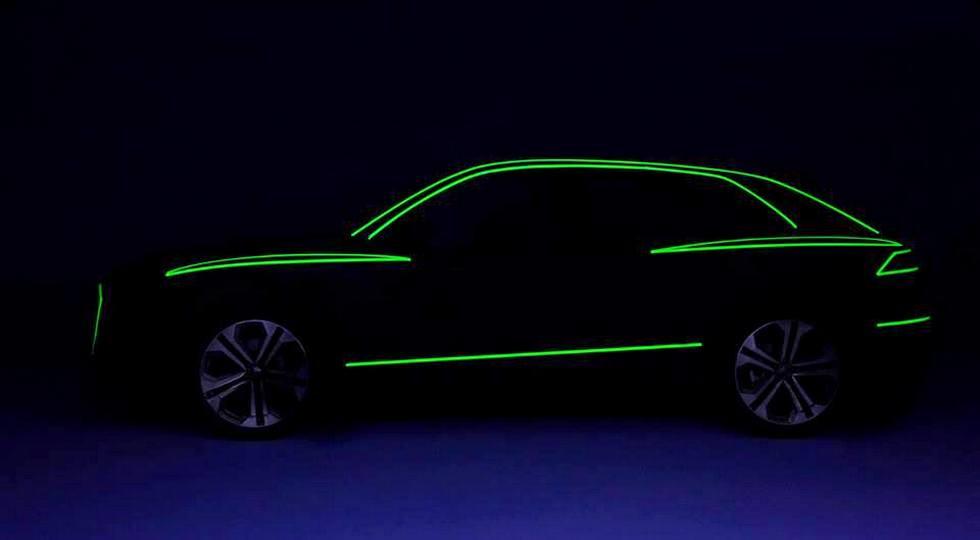 Audi опубликовала первые тизеры серийного кросс-купе Audi Q8