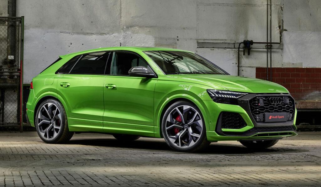 Audi представила «заряженный» кроссовер Audi RS Q8