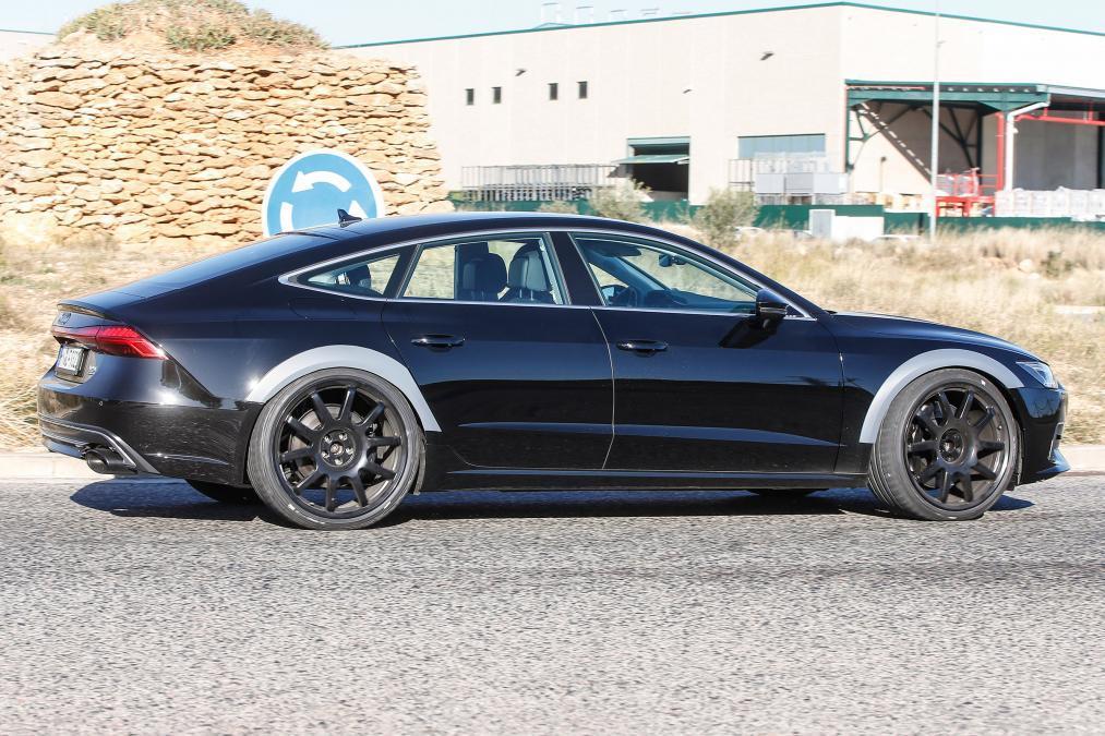 Самый мощный Audi RS7 Sportback замечен фотошпионами