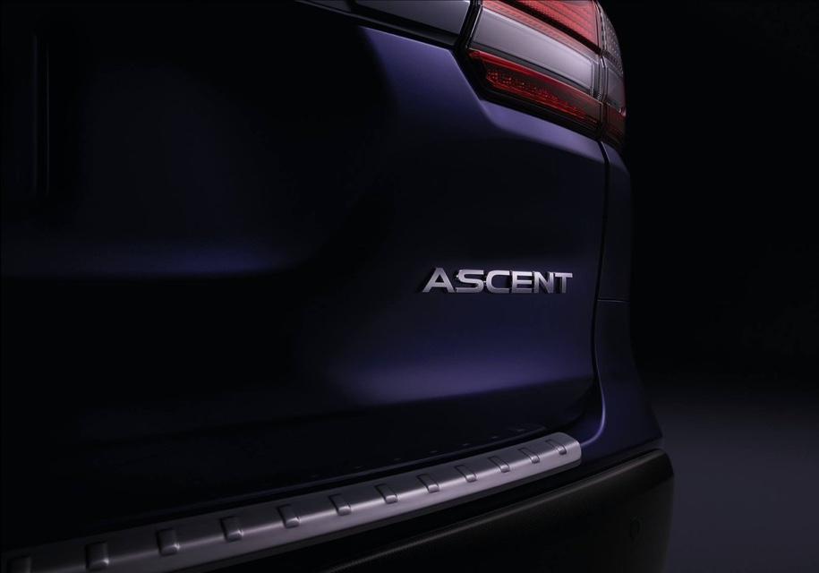Subaru показала новый семиместный кроссовер Ascent на тизере