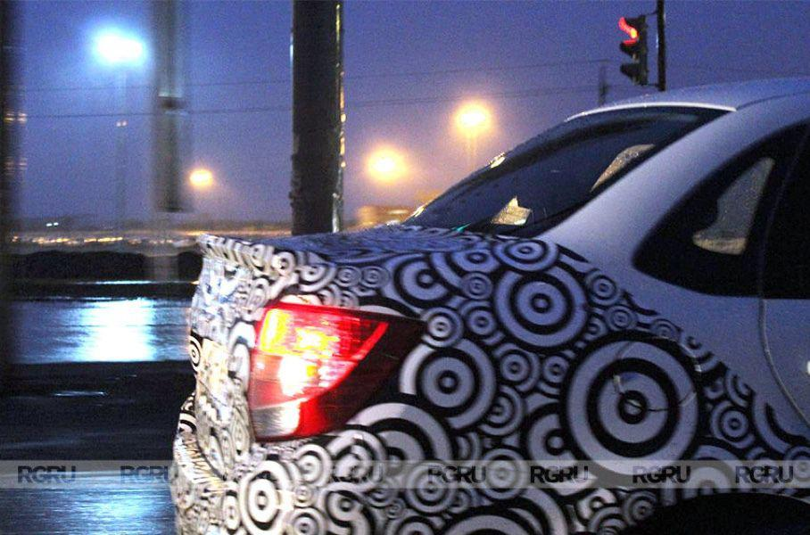 «Заряженная» версия Lada Granta Sport замечена на тестах