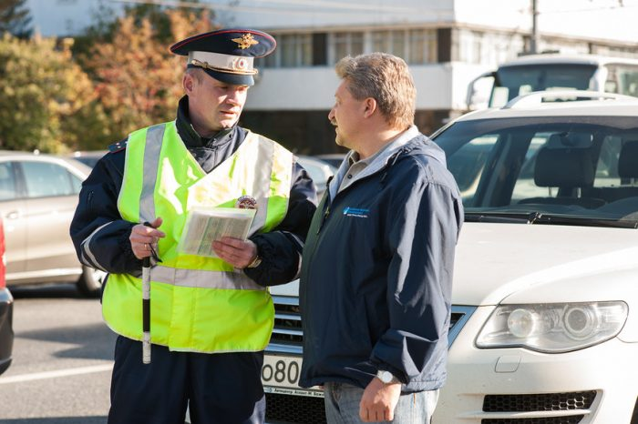 Основные правонарушения автомобилистов