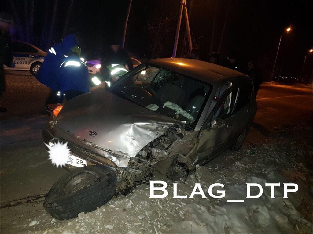 Жесткое ДТП в районе Моховой Пади, трое пострадавших