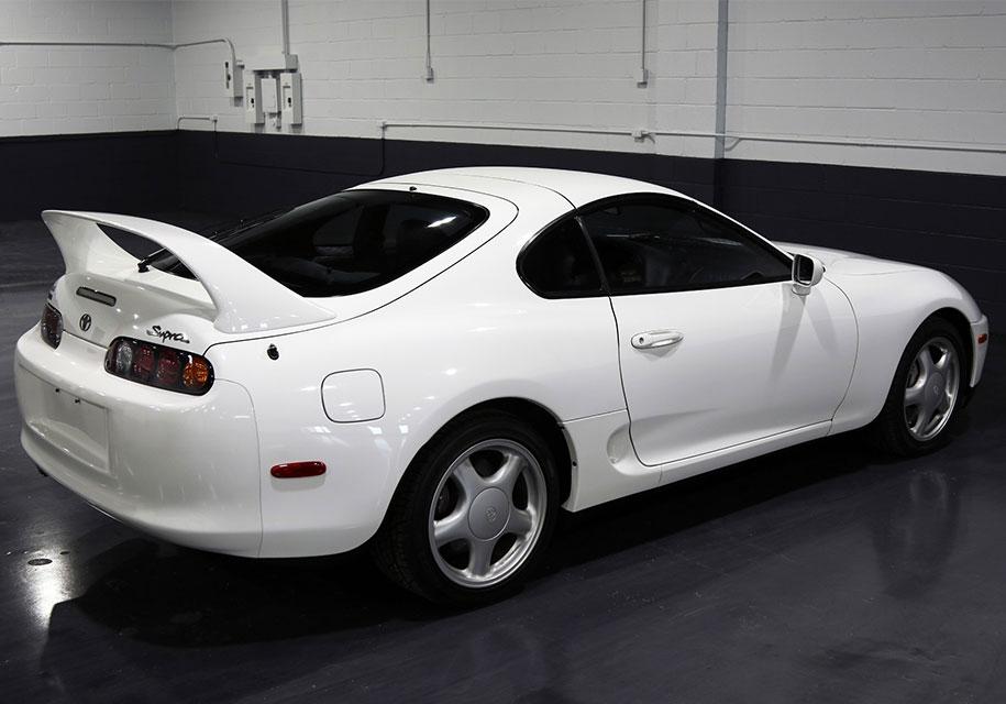 В США за 24-х летнюю Toyota Supra выручили свыше $80 тысяч