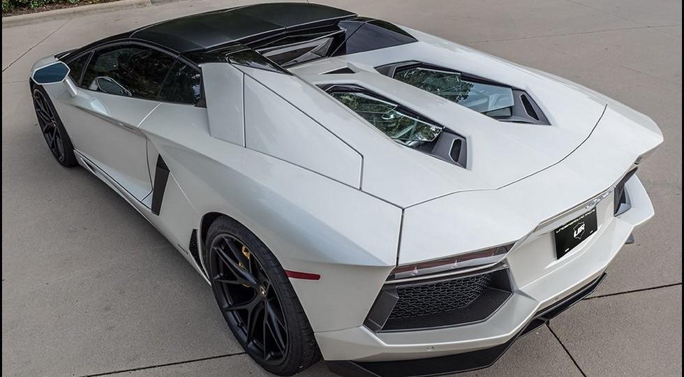 Мощность суперкара Lamborghini Aventador увеличили до 1 500 л.с