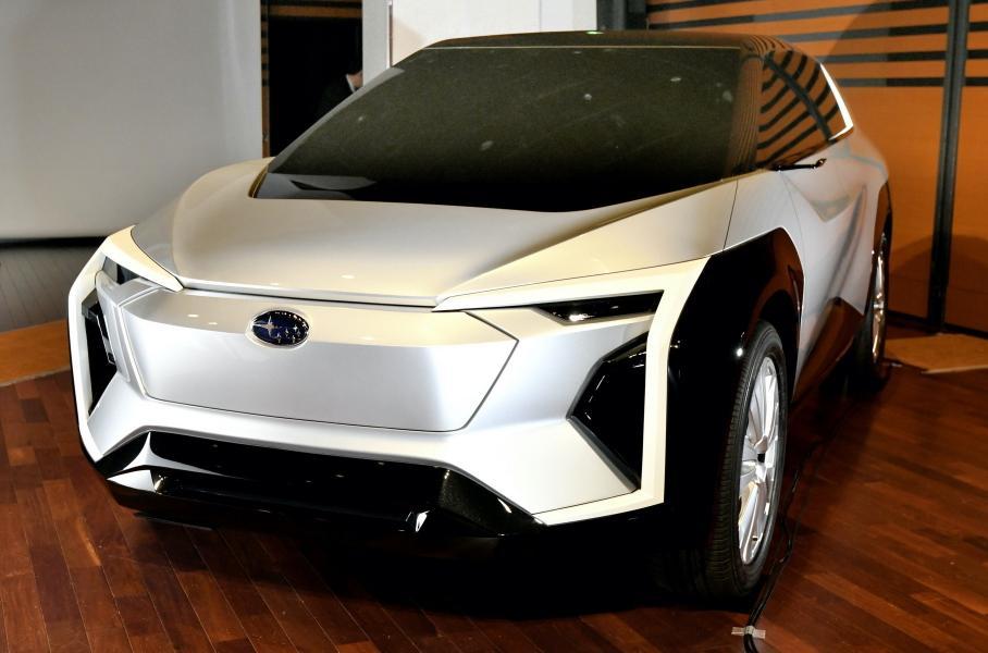 Subaru готовит новый электрический кроссовер Subaru Evoltis