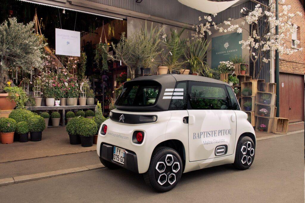 Citroen презентовала новый компактный грузовой фургон My Ami Cargo